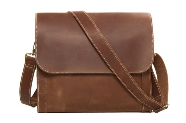 Rockcow Genuine Leather Dslr Camera Bag Slr Pd01