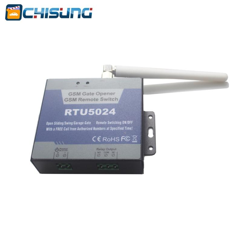 RTU5024 Interruptor do relé do abridor de porta GSM Controle remoto - Segurança e proteção - Foto 4