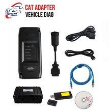 Outil de Diagnostic pour camion ET adaptateur CAT 317 – 7485, adaptateur de Communication III WIFI avec boîte en plastique Keygen