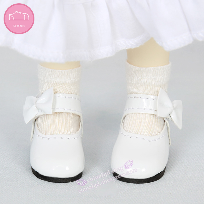 Free shipping bjd shoes bowknot toy shoes Leather shoes for bjd sd doll without wig or doll WX6-31 OUENEIFS js 081 bjd shoes pu shoes sd msd doll shoe factory sales directly