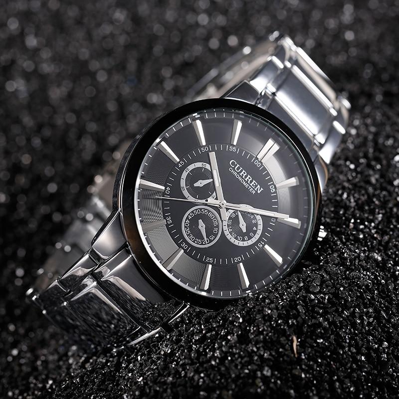 Curren relogios masculinos Сәнді Brand Watch Ерлерге - Ерлердің сағаттары - фото 6