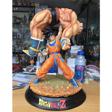 Dragon Ball статуя Сон Гоку Лифт наппа полная длина портрет лимит бюст GK фигурка Коллекционная модель игрушки 16 ''P1164