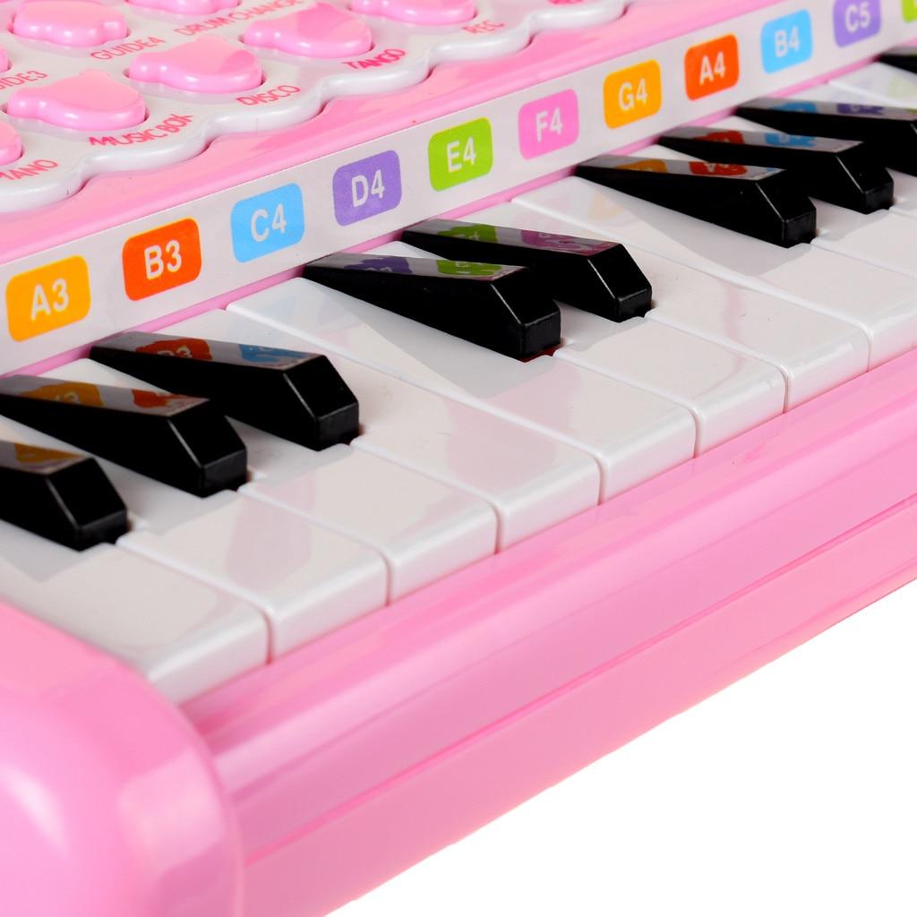 Piano clavier jouet enfants premier anniversaire cadeau 24 touches multifonctionnel Musical électronique jouet Piano cadeau créatif 5.27 - 5
