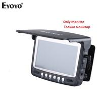 EYOYO 4.3 LCD Monitor 1000TVL Fish Finder Underwater Ice Fishing Camera Monitor Repair Replacement for 7HBS