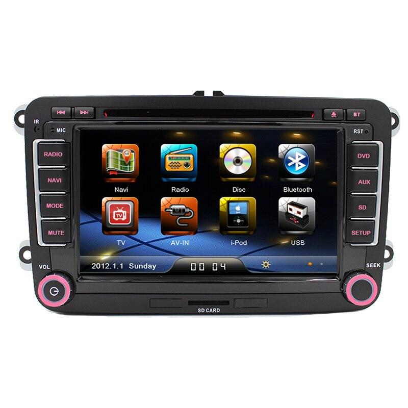 In Stock 7″ Double Din Car GPS DVD Player For VW/Volkswagen/Passat/GOLF/Skoda/Seat VW Original Radio RCD310/RCD315/RCD510/RNS510