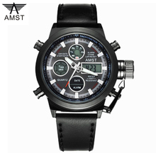 Horloges Mannen Luxe Merk Dive LED Horloges Sport Militaire Horloge Canvas Digitale Quartz Horloge Mannen Horloges Relogio Masculino(China)