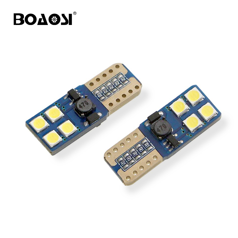 10x <font><b>T10</b></font> <font><b>W5W</b></font> 194 CANBUS No ERROR 3030 <font><b>CREE</b></font> Chip LED Car Auto DRL Replacement Clearance Light Parking Bulbs Lamps Car Light Source image
