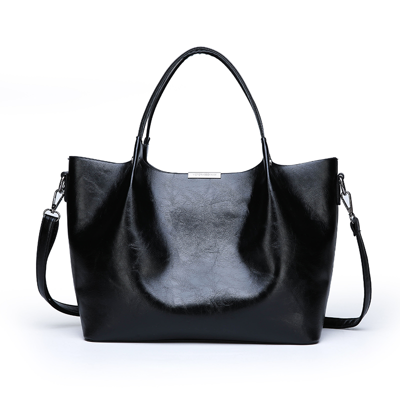 クンツァイト女性の革ハンドバッグ大容量バッグショルダースリングバッグレディース、女子カジュアル黒の Pu メッセンジャークロスボディバッグボルサ  グループ上の スーツケース & バッグ からの トップハンドルバッグ の中 3