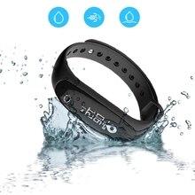 IP67 Водонепроницаемый умный Браслет Приборы для измерения артериального давления сердечного ритма Android браслет E26 0.86 »OLED Smart запястье сна спортивные Фитнес