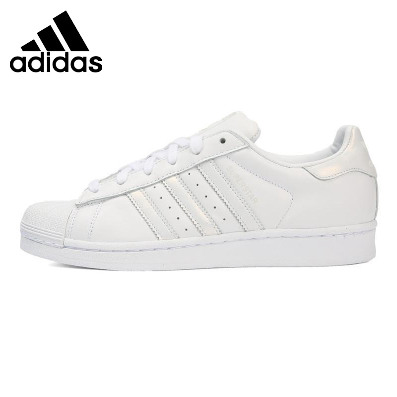 Original New Arrival 2018 Adidas Originals SUPERSTAR W Women's Skateboarding Shoes Sneakers image