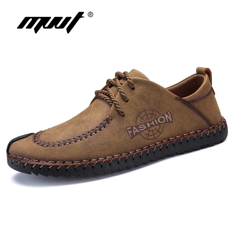 Men Spring Autumn Lace up Casual shoes Comfortable Soft Leather Men flats Leisure Footwear Moccasin Breathable Male Shoes 2017 men shoes fashion genuine leather oxfords shoes men s flats lace up men dress shoes spring autumn hombre wedding sapatos