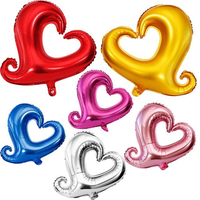 5 Teile/los Ehe Zimmer Schmücken Liebe Hochzeit Ballon Valentinstag 18 Zoll  Aluminiumfolie Ballon Gogo