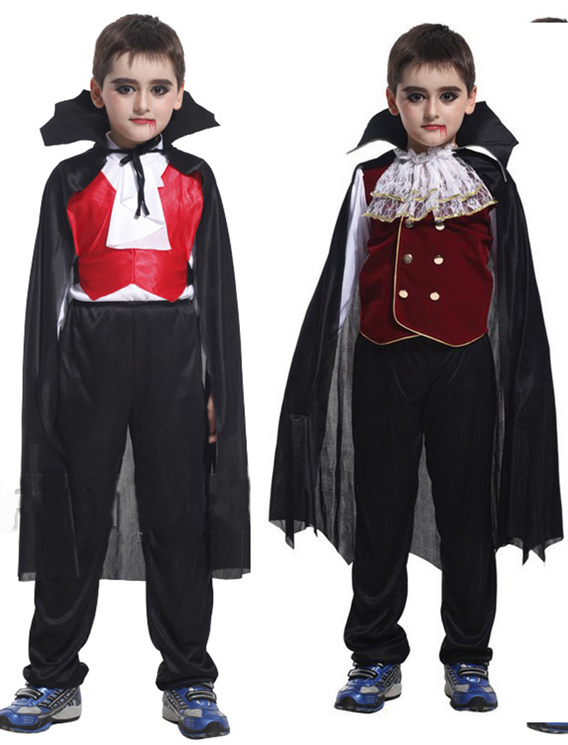 free shippinghalloween party dress up costume children scary vampire king cosplay costume clothes for - Scary Vampire Halloween Costumes