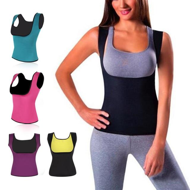 cf8903ffc2aa6 2017 Fashion Women Neoprene Hot Body Shapers Slimming Waist Slim Sportswear  Vest Underbust Corset SN Hot-in Slimming Product from Beauty   Health on ...