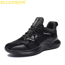 2019 Hot Sale Four Seasons Running Shoes Men Lace-up Athletic Trainers Zapatillas Sports Male footwear Outdoor Walking Sneakers