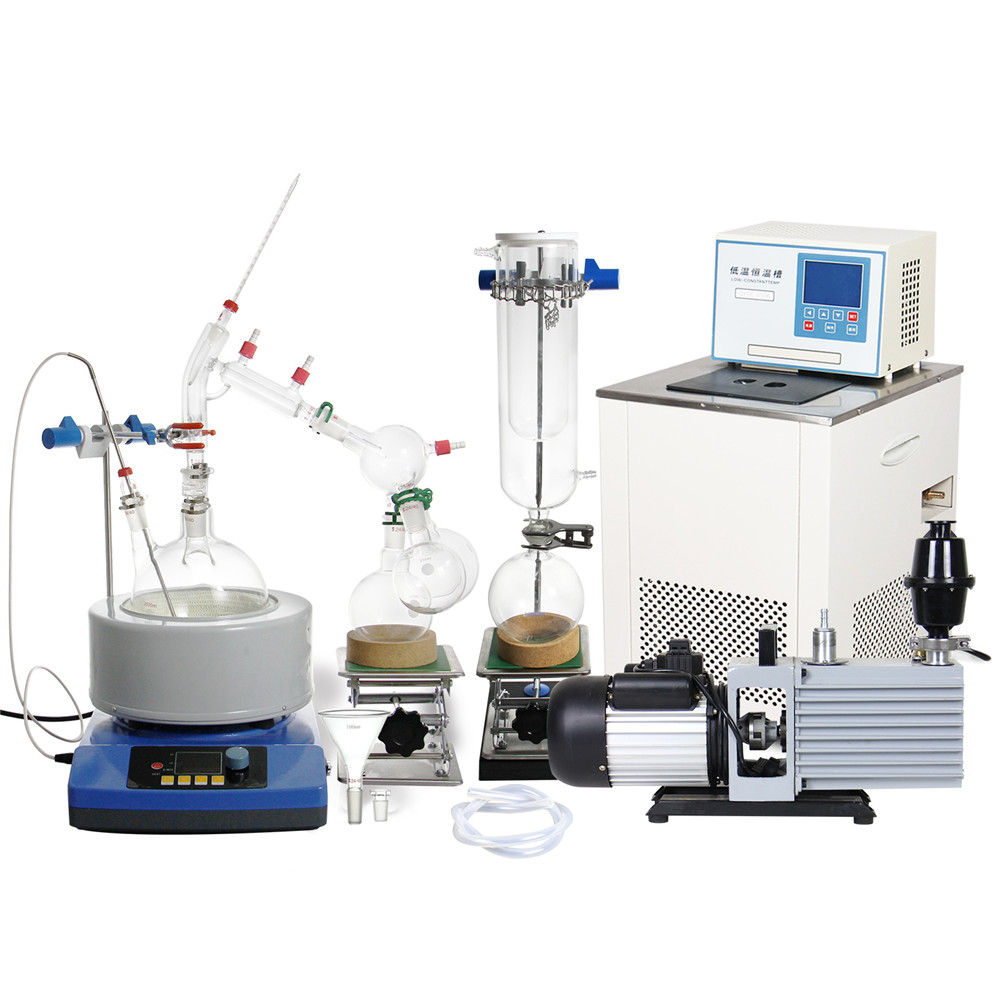 2L Short Path Distillation Kit Complete Turnkey Package-in