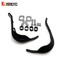 KEMiMOTO Universal 7 8 22mm Motorcycle Hand Guard Handlebar Protector For Dirt Bike Chopper ATV