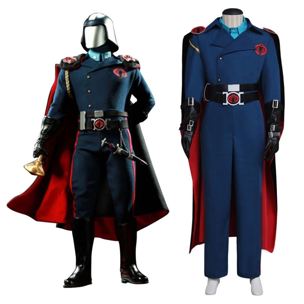 G.I.JOE Cobra Commander cosplay costume Serpentor Outfit ...