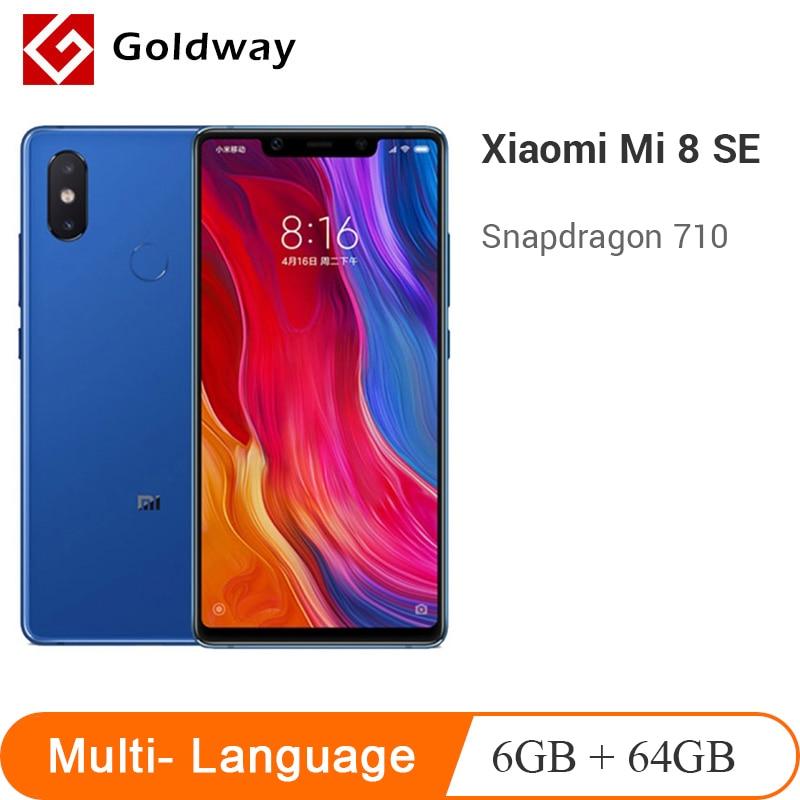 "Original Xiaomi Mi 8 SE Smartphone 6GB 64GB 5.88"" 18.7:9 Full Screen Snapdragon 710 Octa Core 20MP Front Camera 3120mAh Battery"