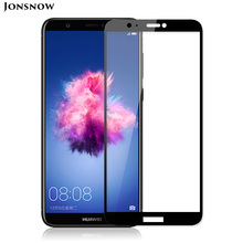 JONSNOW Tempered Glass for Huawei P Smart 9H Explosion-proof Full Film Screen High Clear Protector