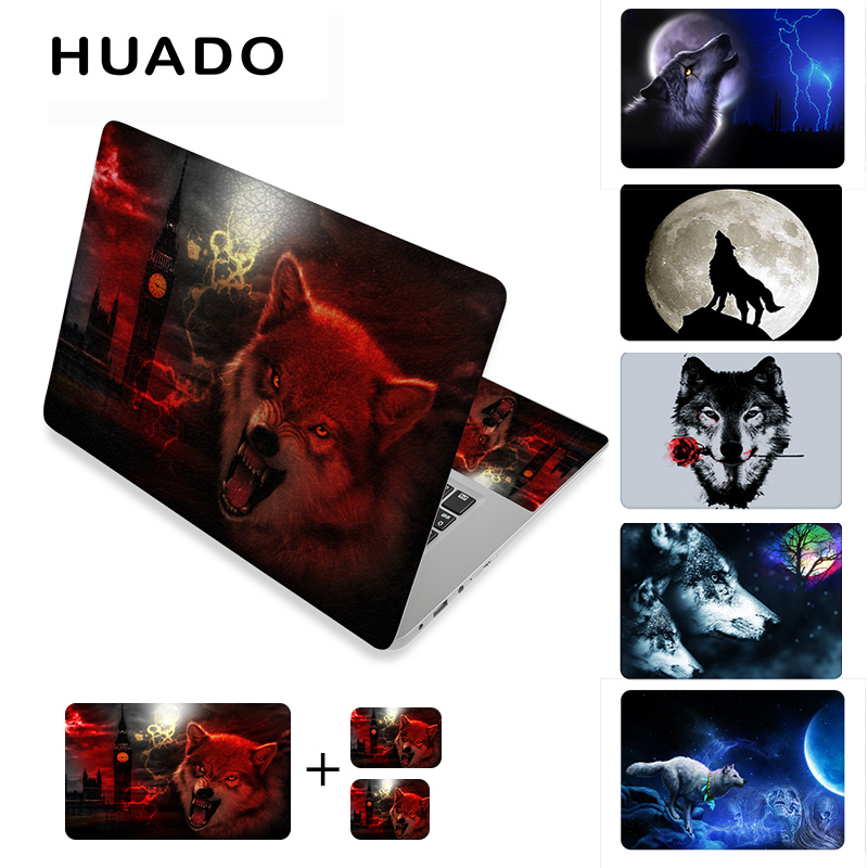 Cool pattern computer stickers for 17 15 15.6 notebook stickers decals 12 laptop skin cover for mac pro 13.3/asus/lenovo/dell