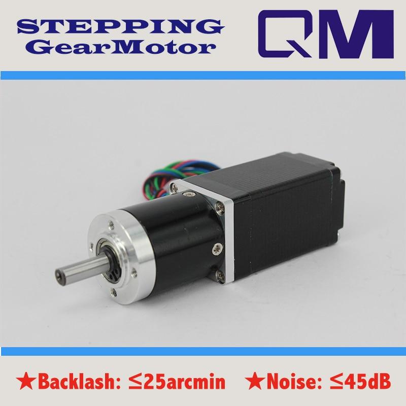 ФОТО  Gear motor planetary  gearbox ratio 15:1  nema 11  stepper motor  L=50mm