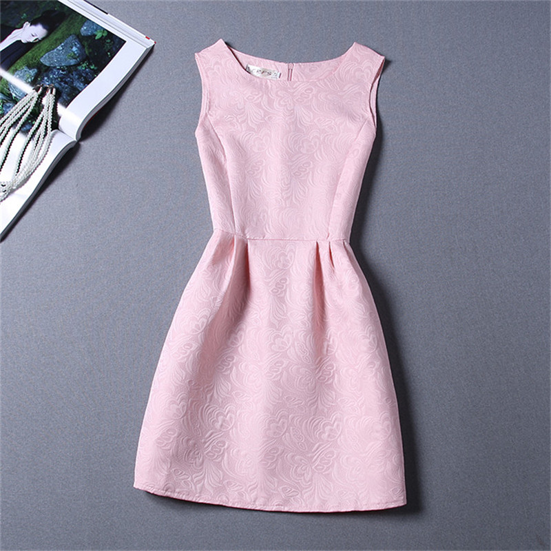 Summer Sleeveless Girls Dresses Daily Casual School Wear Teen Girl Floral A-line Dress Children Clothing for 6 8 10 12 Years 4