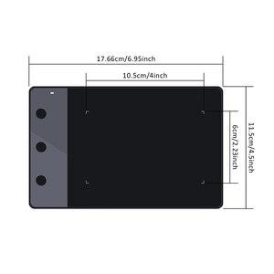Image 2 - Huion H420 4x2.23 pollici 2048 sensibilità grafica penna da disegno digitale tavoletta firma Pad (perfetto per OSU)