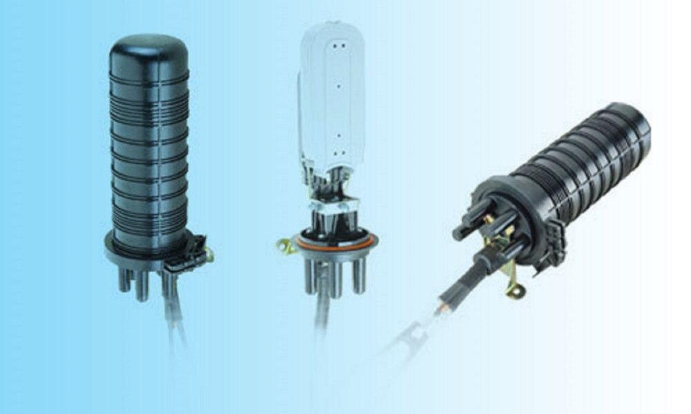 Grandway - D003 Fiber de câble fermeture Splice fermeture connecteur étanche boîtes rétractable