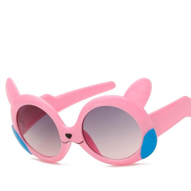 a8975373a483f8 Hindfield Fashion Kids Cartoon Zonnebril UV400 Shades Kinderen Jongens  Meisjes Kleurrijke Zonnebril Baby Outdoor Zonwering Bril