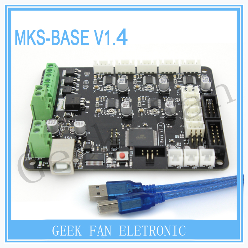 BIGTREETECH GEN V1.0 control board MKS-BASE development board V1.5 board RepRap Ramps1.4 compatible For 3D printer parts 3D0095