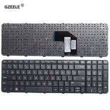 Английская клавиатура GZEELE для ноутбука HP Pavilion g6-2100 AER36701010 R36 US, черная клавиатура с рамкой