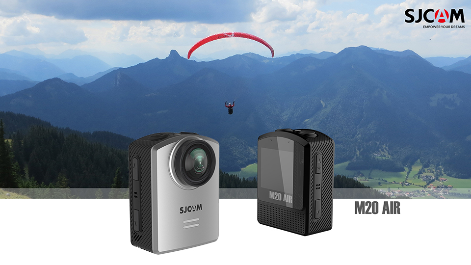 SJCAM M20 Air Action Camera Waterproof Sports DV 1080P NTK96658 12MP Mini Helmet Video Camera