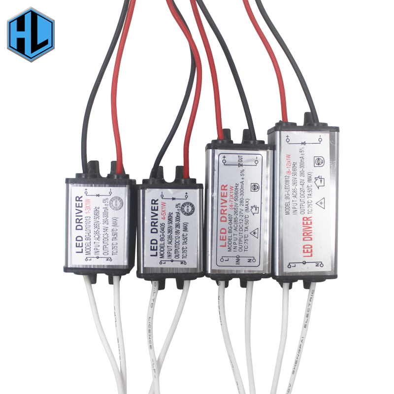 Waterproof For DIY Floodlight Spot Light Lawn Lighting Power Supply  Switching No Flicker LED Driver IP65 Transformer