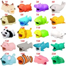Cable Protector Cute Animal Shape Prevents Breakage Protects for iPhone RJ88 SGA998