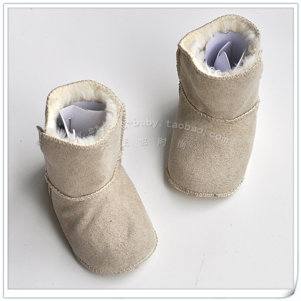 End of a single baby soft sole shoes indoor shoes baby cotton boots