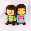 Undertale Frisk Chara Plush Doll Toy For Kids gift 20CM