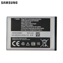 Samsung Original Replacement Battery AB463446BU AB043446BE  For X520 S139 M628 E1200M E1228 F258 E878 X160 800mAh
