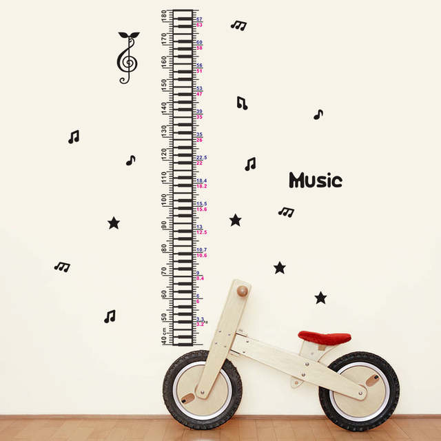 Music Notes Chart