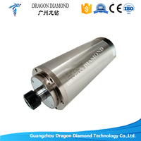 5.5kw water cooled spindle Collet ER25 with diameter 125mm *298mm 380V for CNC router machine