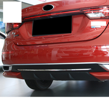 цена на Lsrtw2017 Stainless Steel Car Tailgate Strip Rear Bumper Trims for Kia K3 Kia Cerato 2018 2019 2020