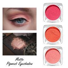 купить Natural Matte Eye Shadow Waterproof Palette Pigment Nude Eye shadow Makeup Beauty Make Up Cosmetic Single Color дешево