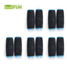 Hot 10pcs Replacements Roller Heads For Pro Pedicure Foot Care