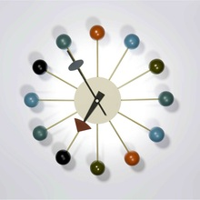 Home Decor/designer ball wall clock/creative clock/watch wall/factory price/Wholesale clock metal/free shipping