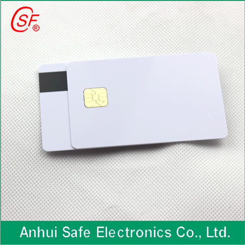 1000pcs Printable Magnetic Strip Card With Sle4428 Chippvc