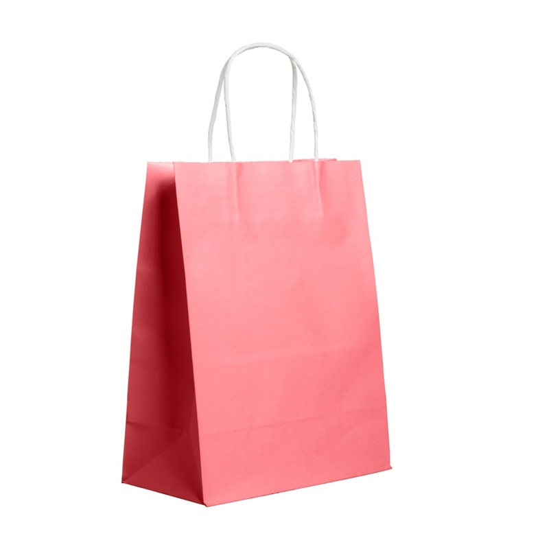 Kraft paper Gift bag with handle wedding birthday party gift package bags / Christmas new year Wholesale