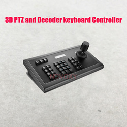 Envío Gratis CCTV 3D PTZ y decodificador teclado controlador para CCTV PTZ cámara domo de velocidad