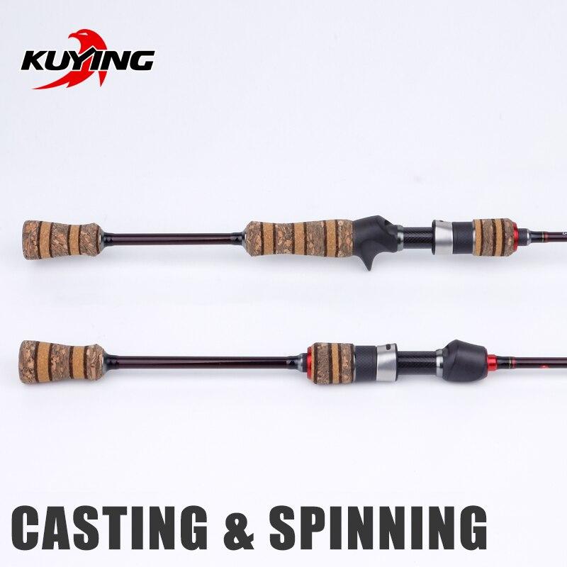 Image 2 - KUYING Teton L Light 1.98m 66 Soft Casting Spinning Lure  Fishing Rod Pole Cane Carbon Medium Fast Action Trout 2 10g Lure  FUJIFishing Rods