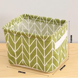 Image 5 - Caixas de armazenamento de algodão compõem cosméticos organizador livro recipiente roupas sujas caixão organizador de escritório portátil com alça