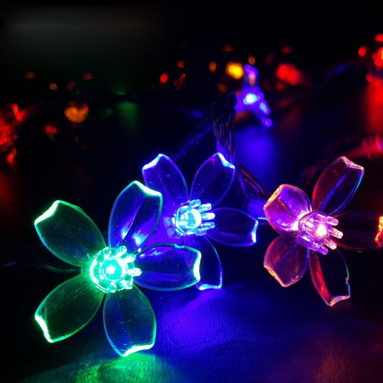 AC220V 10M 50LED Вишневе Квітка Різдвяні - Святкове освітлення - фото 2